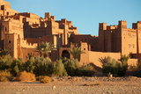 Ait Benhaddou is a Fortified City  or Ksar  along the Former Caravan Route between the Sahara and M