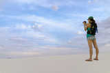 Tourist Taking Pictures - White Sands New Mexico