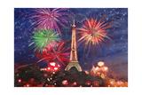 Spectacular Paris France Silvester Fireworks