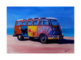 Surf Bus Series - The Summer of Love VW Bus