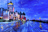 Fairmont Le Chateau Frontenac Quebec Canada By Nig
