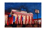 Berlin Brandenburg Gate with Paris Place