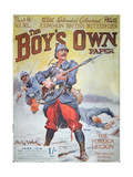 French Foreign Legion in Wwi  Cover of the Boy's Own Paper  June 1918