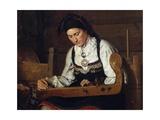 Female Musician  19th Century