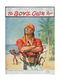 A Pirate Figure from the Front Cover of 'The Boy's Own Paper'  1923