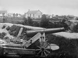 Confederate 32-Pounder Gun Captured Outside Yorktown  Virginia  Ca July 1862