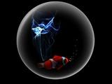 Digital Art (Fish in a Bubble)