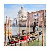 Gritti Palace Gondolas  Venice