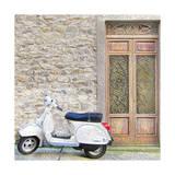 Vespa with Porte Vecchio