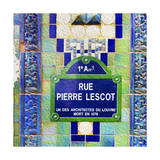 Rue Pierre Lescot Sign
