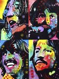 Beatles Giclée par Dean Russo