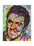 Elvis Presley Reproduction d'art par Dean Russo
