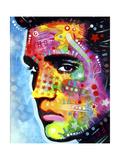 Elvis Presley Giclée par Dean Russo
