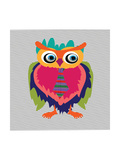Cute Owl  Cartoon Drawing  Cute Illustration for Children  Vector Illustrations (Hipster Symbol Ser