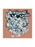 Owl  Symbol of Halloween  Vector Illustration Illustration for T-Shirt