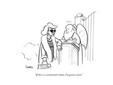 """""""If this is a sentimental tribute  I'm gonna vomit"""" - New Yorker Cartoon"""
