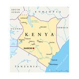 Kenya Political Map