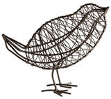 Large Bird On a Wire Sculpture*