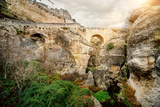 Ronda Bridge and Canyon  Spain