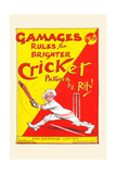 Gamages Rules for Brighter Cricket