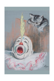 Clown with Cat
