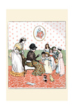 Sing a Song of Sixpence; Poem Related to Children by a Elderly Woman
