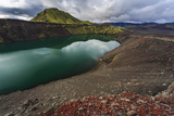 Lake in the Volcano  in Central Iceland