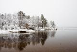 Snowy Day at Lake Inari