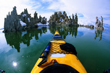 Kayaking Mono Lake  Castle Tufa