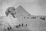 Tourists at Giza