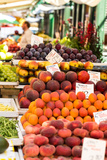 Fruits and Vegetables for Sale at Local Market in Poland