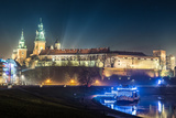 Poland  Krakow Wawel Castle and Wistula  Krakow Poland