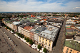 View of the Old Town of Cracow  Old Sukiennice in Poland (World Heritage Site by Unesco)