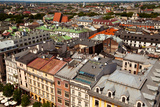 View of the Old Town of Cracow Poland