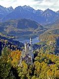 Neuschwanstein Castle near Fussen  Bavaria