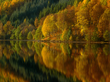 Autmn at Loch Tummell  Pitlochry  Scotland