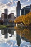 Omaha  Nebraska  City View