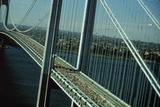NYC Marathon Runners on Bridge