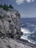 Great Head Cliff at Acadia National Park  Maine
