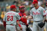 Sep 21  2014  Philadelphia Phillies vs Oakland Athletics - Ryne Sandberg
