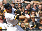 Sep 21  2014  Milwaukee Brewers vs Pittsburgh Pirates - Russell Martin