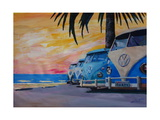 VW Volkswagen Bully Series - Blue Surf Bus Line