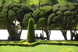 Parterre Gardens in Parque Del Buen Retiro