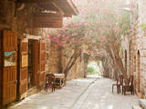 Shops in a Narrow Street in the Souq at Byblos  a Small Coastal Town in Lebanon