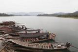 Docked Boats  Khao Sok National Park
