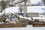 Sheepstor Village in the Snow  Dartmoor  England