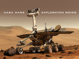 NASA Mars Exploration Rover Sprit Opportunity Photo Poster Print