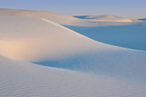 White Sands Natl Mon at Sunrise
