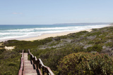 Boardwalk to Kleinkrantz Beach  Western Cape  South Africa