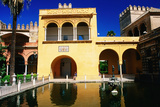 Mercury's Pool in Gardens of Reales Alcazares  Sevilla  Andalucia  Spain  Europe